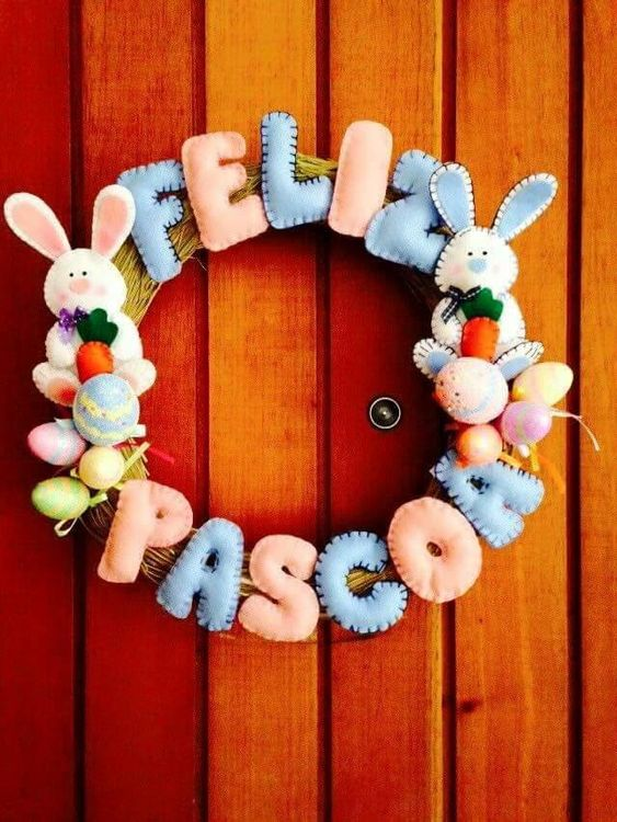 Decoração criativa para a Páscoa!