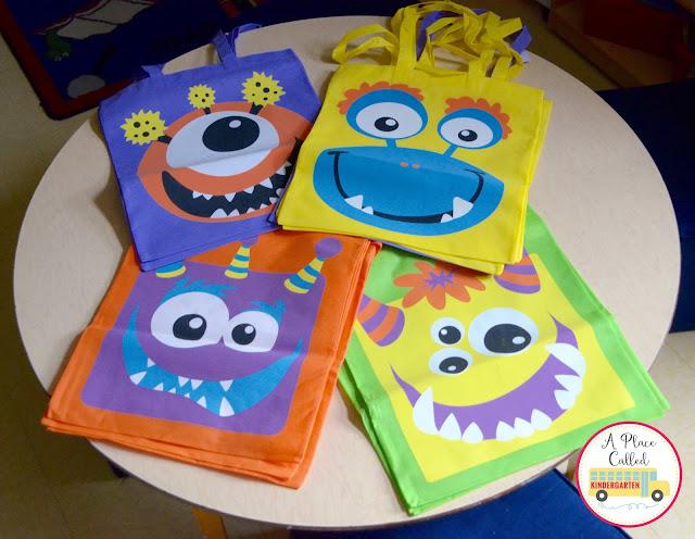 Great Halloween monster stuff from Oriental Trading for your Kindergarten classroom.