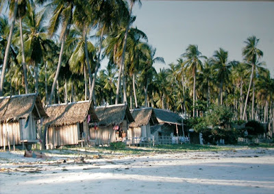 Chaweng beach in 1980