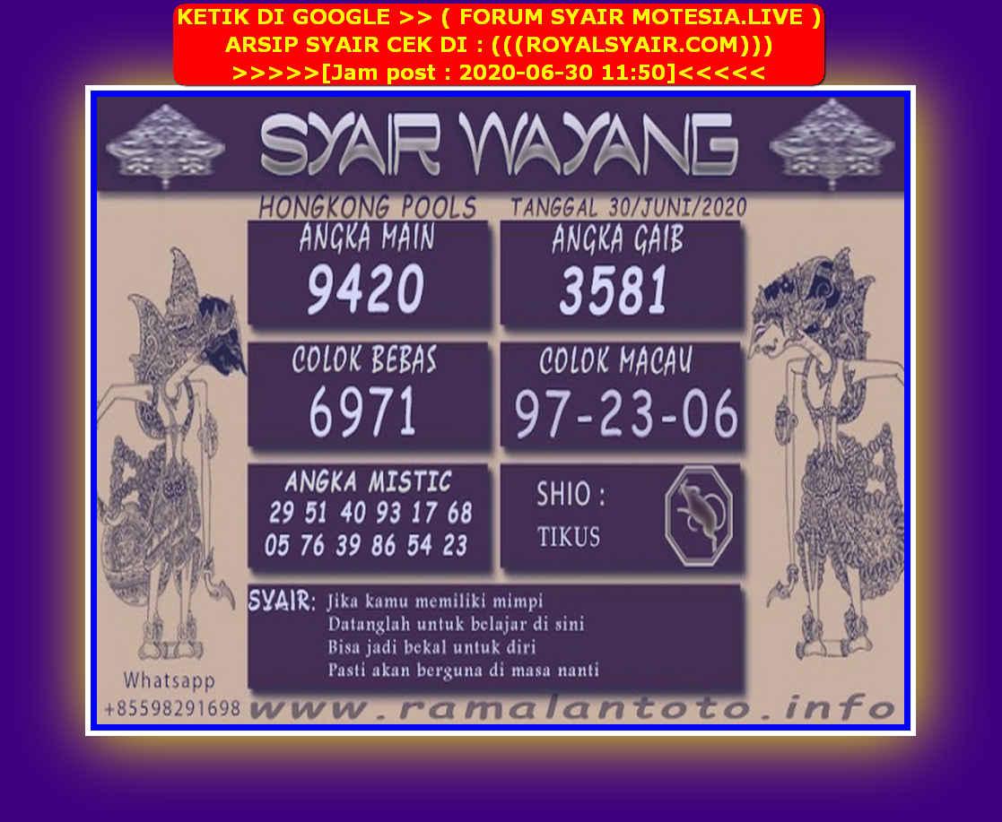 Kode syair Hongkong Selasa 30 Juni 2020 228