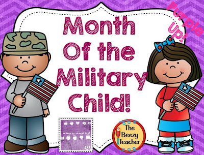 https://www.teacherspayteachers.com/Product/Month-of-the-Military-Child-Purple-Up-1787166