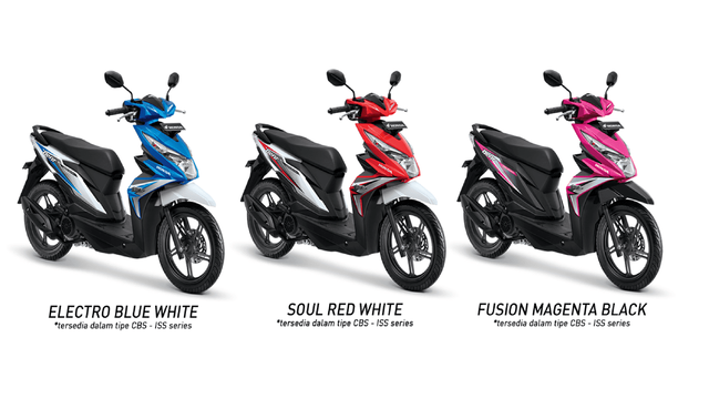 Honda Beat eSP CBS ISS All Colour