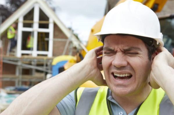 kebisingan pada area kerja