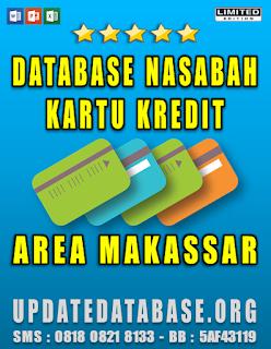 Jual Database Nasabah Kartu Kredit Makassar