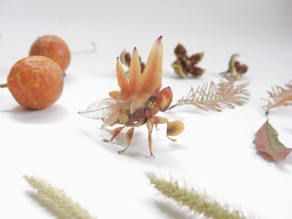Hiroshi Shinno esculturas insetos animais hiper realistas feitos de metal e resina arte natureza japonesa