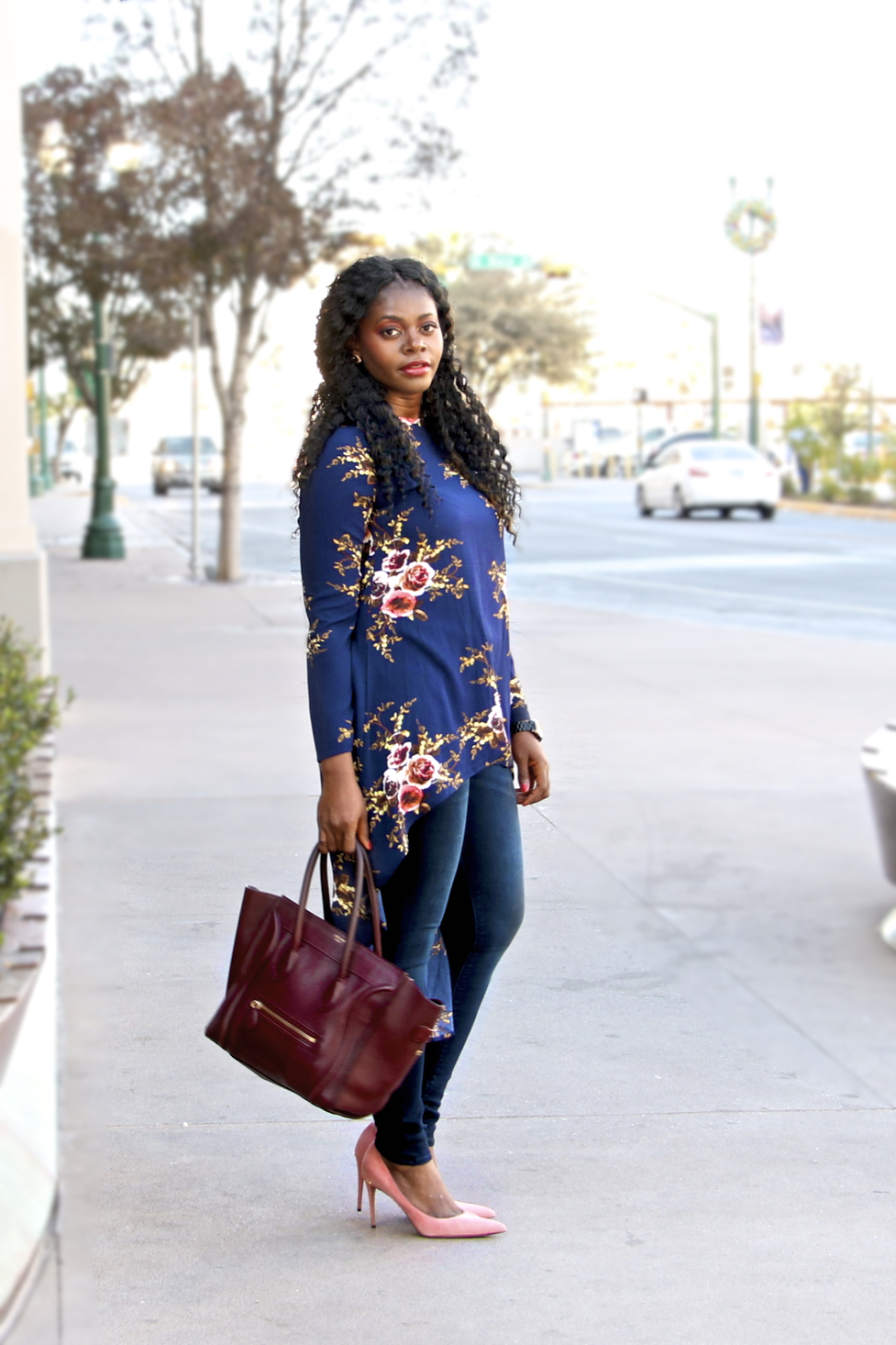 9ba6b8cb890 Hello Yvonne  Style  Floral Hi-Low!
