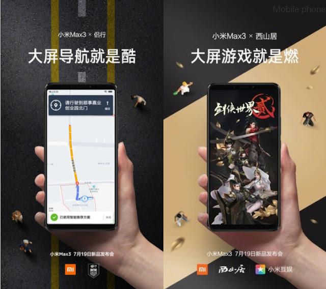 Akan Hadir, Ini Tampilan Resmi Xiaomi Mi Max 3