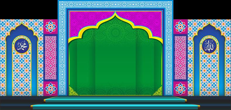 Desain Banner Islami 09