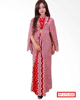 Contoh Model Baju Batik Untuk Pesta Pernikahan