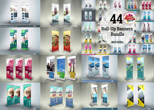 CM 44 Roll-Up Banners Bundle