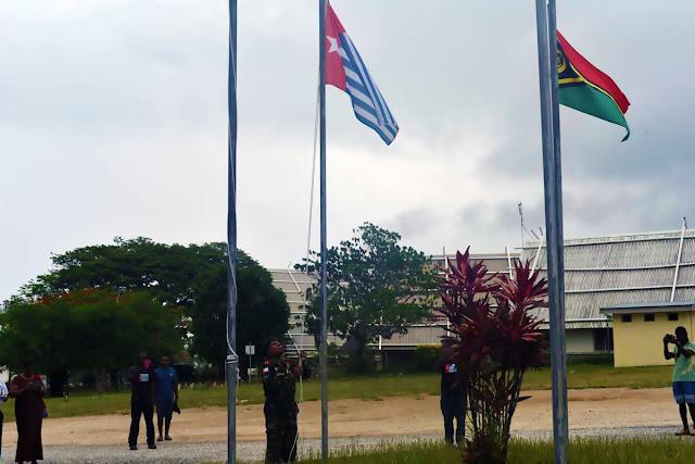 1 Desember, ULMWP Melakukan Upacara Adat Bersama Pemerintah Vanuatu dan Bendera West Papua Dikibarkan