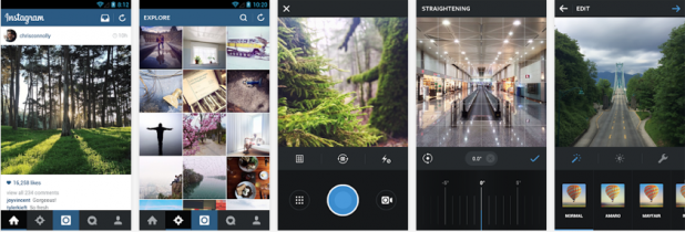 Instagram Includes More Features For Photo Editing