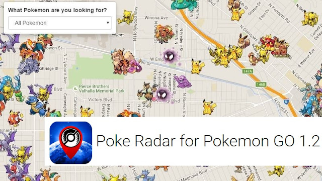Poke Radar v1.2 APK to Download to Find Pokemon For Pokemon Go