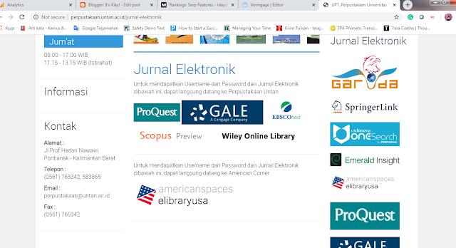 ekosistem digital perpustakaan untan