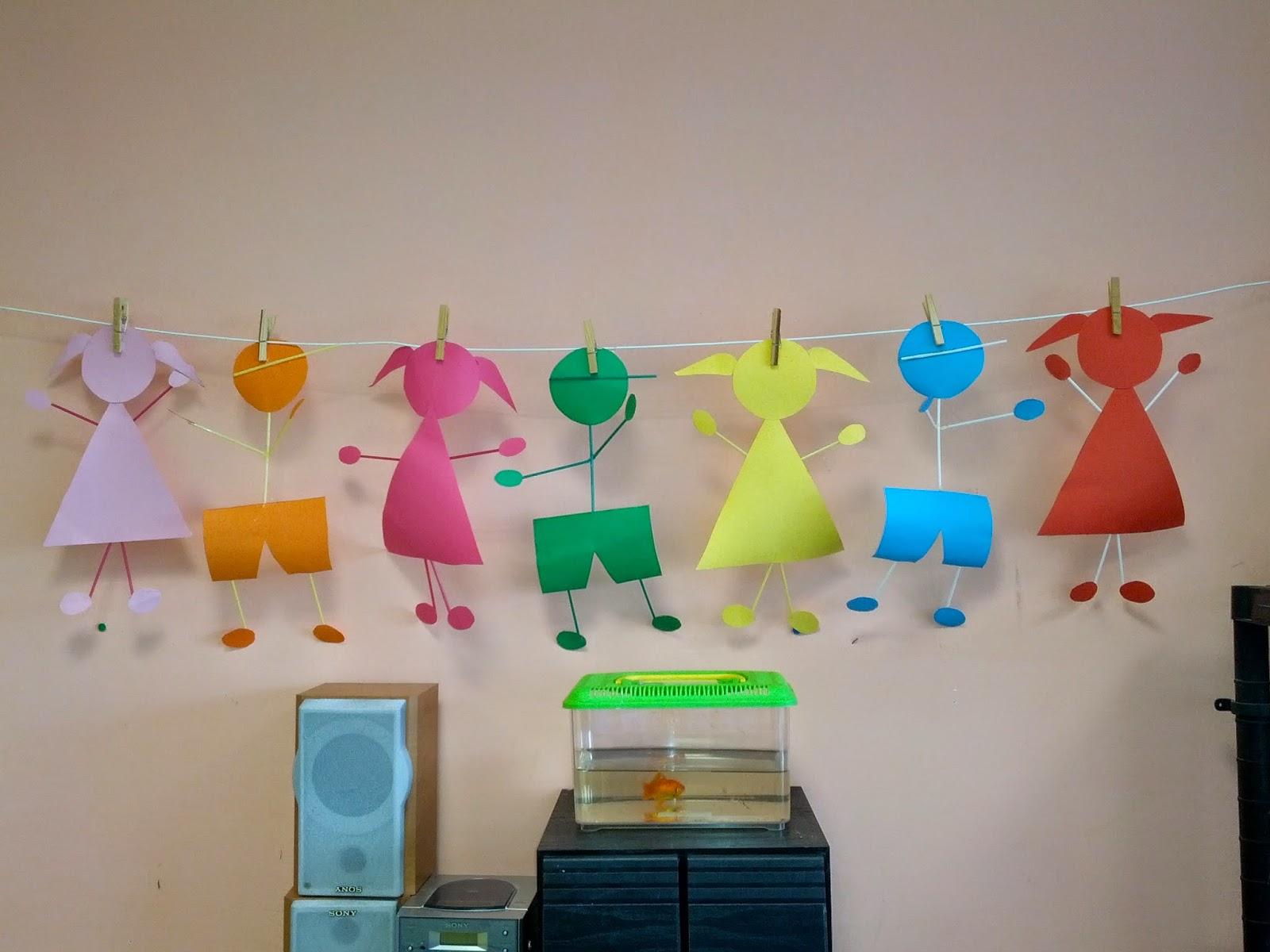 Laboratorio emozioni e creativit addobbi for Addobbi scuola infanzia