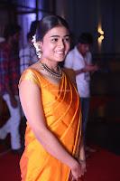 Shalini Pandey in Beautiful Orange Saree Sleeveless Blouse Choli ~  Exclusive Celebrities Galleries 025.JPG