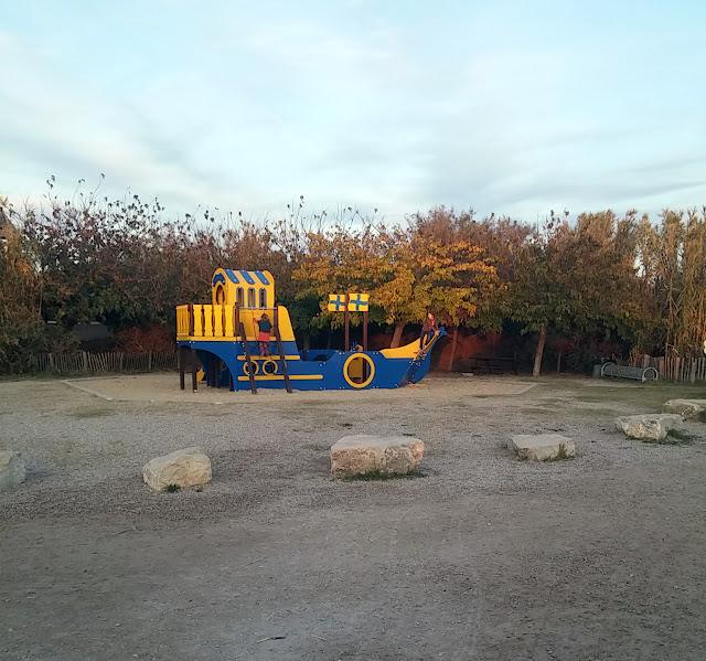 Le parc du Mas Rouge