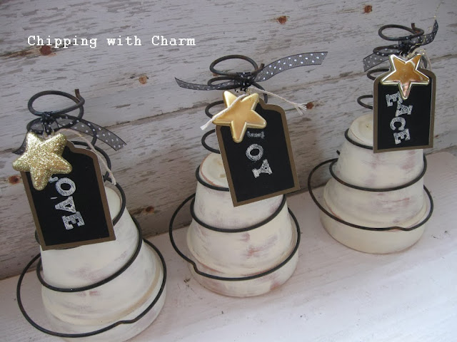 Chipping with Charm: Spring Tree...http://chippingwithcharm.blogspot.com/