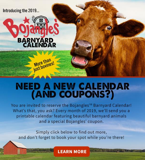 Chick Fil A Calendar.Tomorrow S News Today Atlanta Bojangles Bringing Bovines To