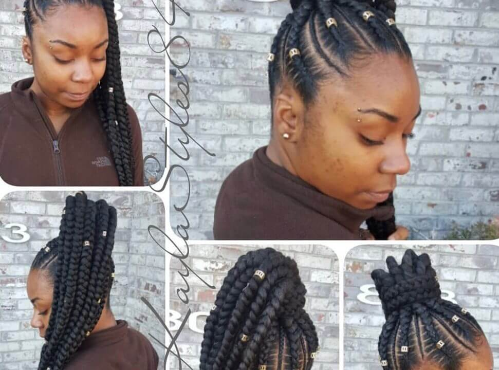 49 Latest Ghana Braids Hairstyles To Protect Your Natural Hair