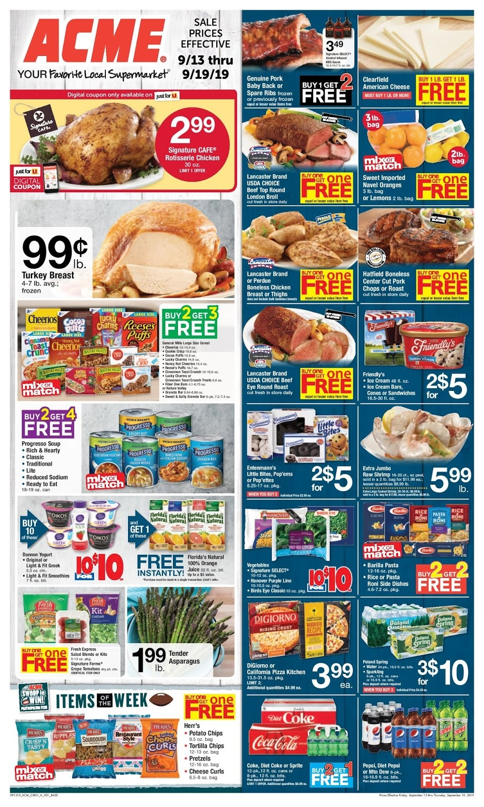 ⭐ Acme Weekly Ad 9/20/19
