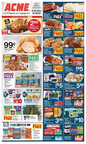 Acme Weekly Specials September 20 - 26, 2019