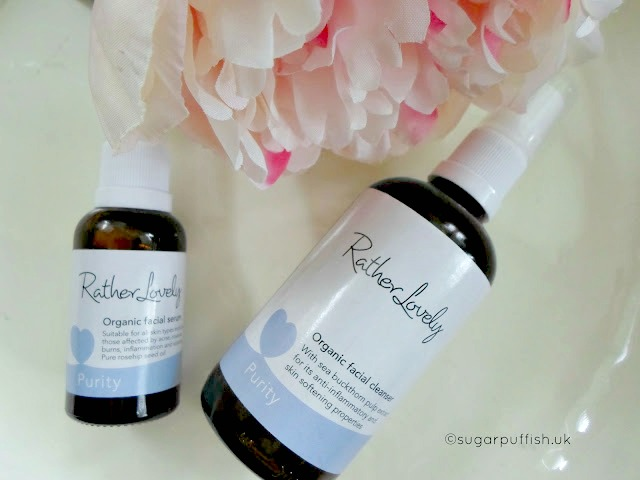 Review: Rather Lovely Purity Facial Cleanser and Facial Serum