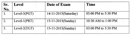 image : HTET Exam Schedule Nov. 2015 @ Teachmatters