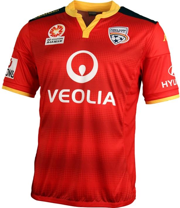 a4f2077b07 Kappa lança nova camisa titular do Adelaide United - Show de Camisas