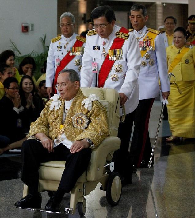 Royal Family Around The World Thailands King Bhumibol -1988
