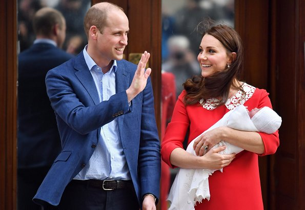 Prince Louis, the son of the Duke and Duchess of Cambridge, will be christened on July 9, Kensington Palace has announced, Kate Middleton