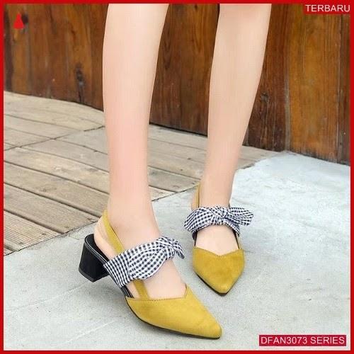 DFAN3073S92 Sepatu Tm06 Hak Tahu Wanita So Karet BMGShop