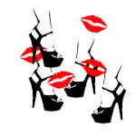 RED LIPS HIGH HEELS