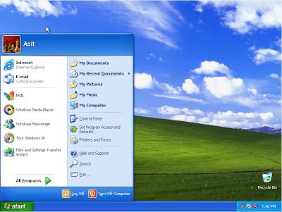 Tutorial Lengkap Cara Install Windows XP Lengkap Dengan Gambar Dengan CD/DVD ROM