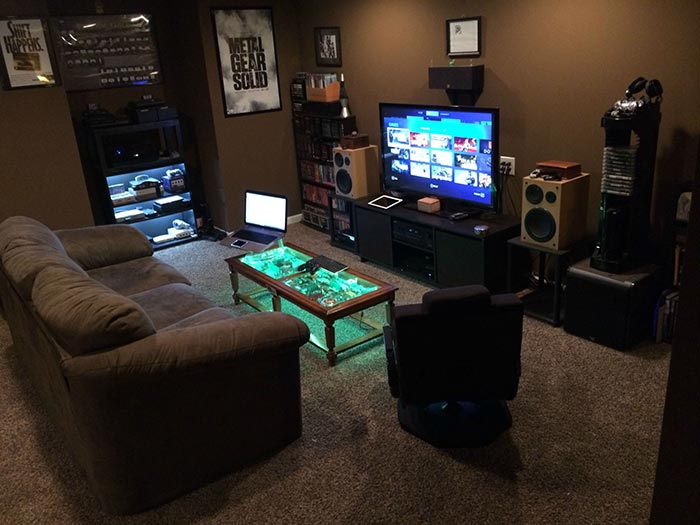 konsol oyun odası
