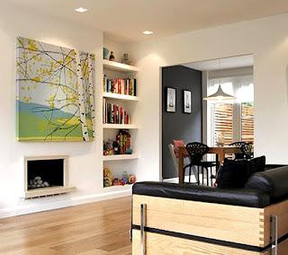Desain Interior Rumah Minimalis ruang keluarga