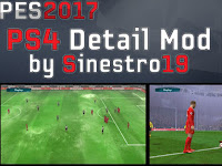 PES 2017 PS4 Detail Mod dari Sinestro19