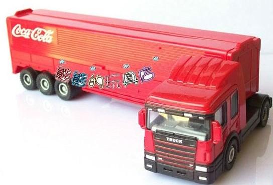 gambar truk kontainer miniatur