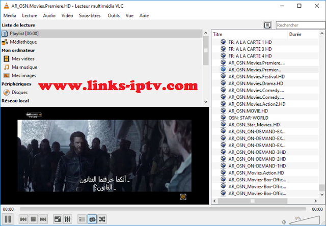 Free IPTV links Arabic M3u HD Playlist