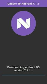 download android nougat otomatis