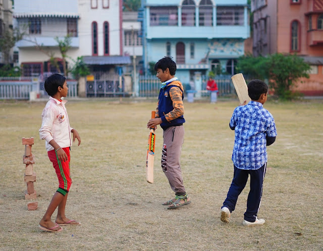 Nephew Rick Playing Cricket 13