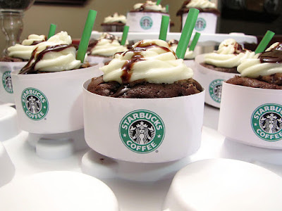double chocolate chip frappuccino cupakes