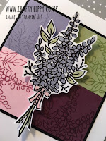 Lots of Lavender Quarter Card. Click on the name to view this card made with the Lots of Lavender stamp set by Stampin' Up!