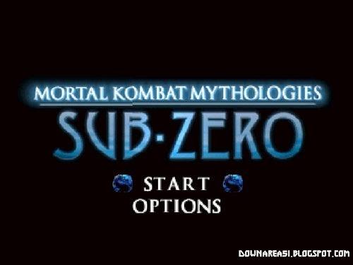 Mortal Kombat Mythologies Sub Zero N64
