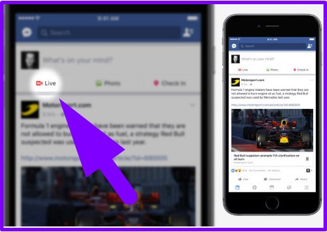How to facebook live on mobile