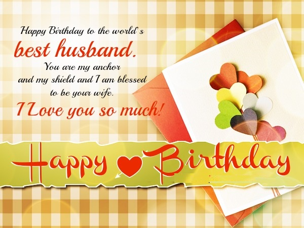 Happy Birthday Wishes For Husband Love