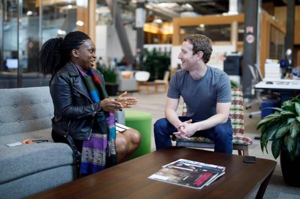 FIN Founder Lola Omolola Meets Mark Zuckerberg, to Attend Facebook Communities Summit