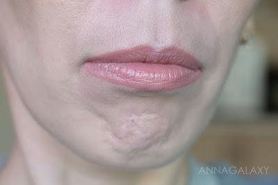 Макияж губ с Faberlic Berry Kiss губная помада 40604 ягодная фантазия