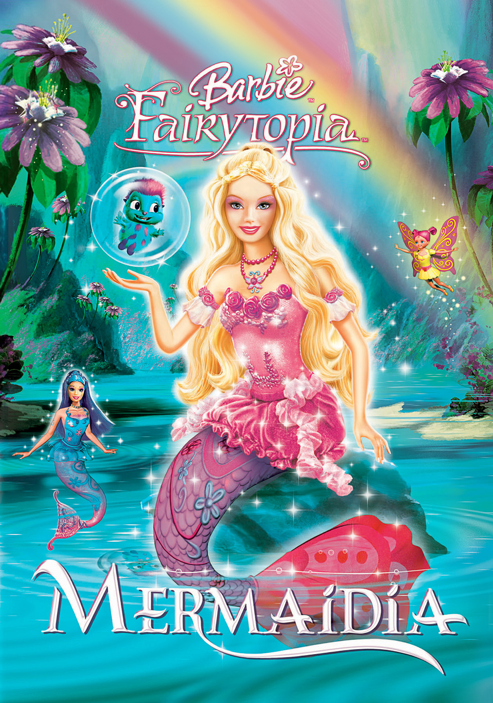 BARBIE FAIRYTOPIA MERMAIDIA Dublat In Romana