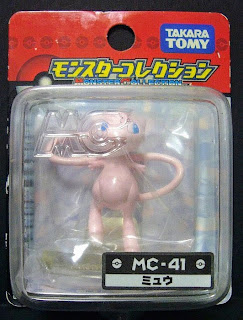 Mew figure Takara Tomy Monster Collection MC series